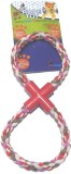 Super Dog Pull Rope Toy Large Double Rin...