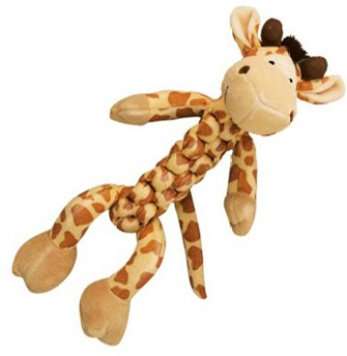 Kong Braidz Giraffe Squeaky Toy For Dog