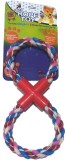 Super Dog Pull Rope Toy Small Double Rin...