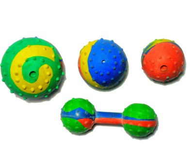 agnpetspot. musical toy set Plated Rubber Toy For Dog