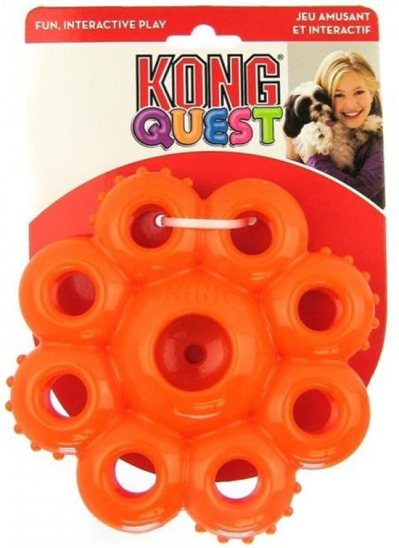 Kong Small Quest Star Pods Treat Dispensing Toy For Dog