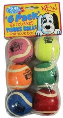 Pet Brands Tennis Ball 6 Pack Ball For Dog