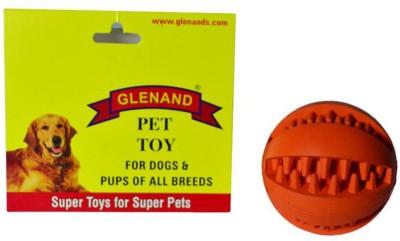 Glenand Rubber Dental Chew 2.375 GI010 Ball For Dog