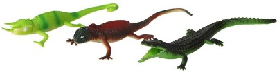TommyChew Reptiles Rubber Rubber Toy For Dog