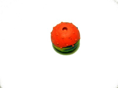 agnpetspot. musicall toy ball small Polypropylene Rubber Toy For Dog