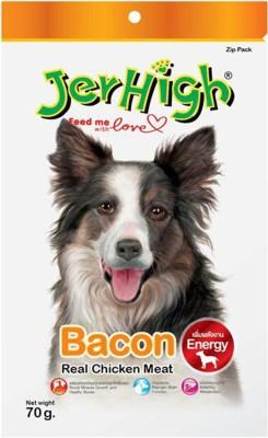 Jerhigh Bacon Chicken Dog Treat(100 g, Pack of 1)