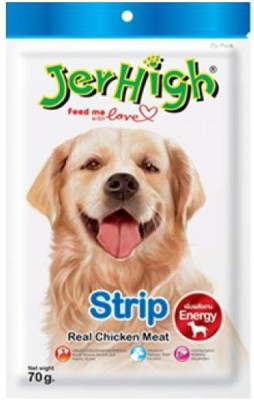 JerHigh Strip Chicken Dog Treat