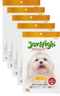 Jerhigh Milky Combo Chicken, Milk Dog Treat(70 g, Pack of 1)