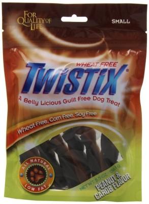 Twistix Peanut & Carob Flavor Small Vanilla Dog Treat