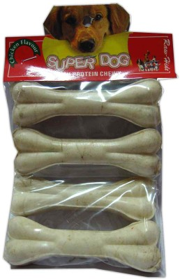 Super Dog Chew Bone Small 4 Pieces Chicken Dog Treat