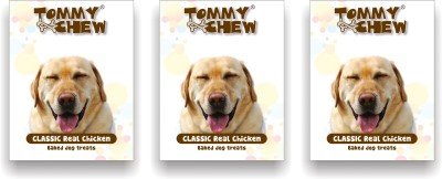 tommychew Classic Real Baked Treat Pack Of 3 Chicken Dog Treat
