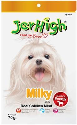Jerhigh Milky Chicken Dog Treat(70 g, Pack of 1)