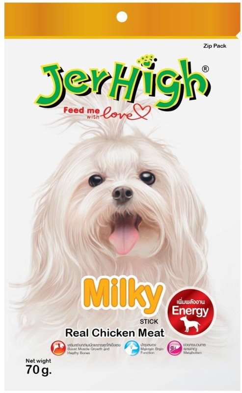 Jerhigh Milky Chicken Dog Treat(70 g, Pack of 1)