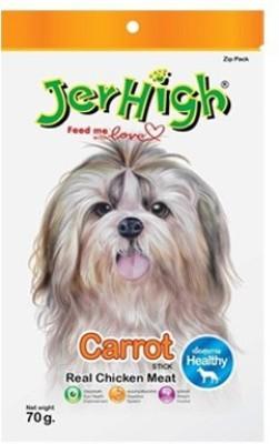 Jerhigh Carrot Chicken Dog Treat(70 g, Pack of 1)