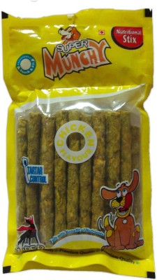 Super Dog Munchy Sticks 25 Pieces Chicken Dog Treat