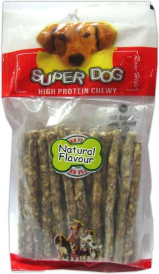 Super Dog Munchy Sticks Natural 10 Pieces Dog Treat