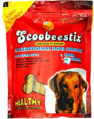 Scoobee scoobee choostix Chicken Dog Treat(500 g, Pack of 1)