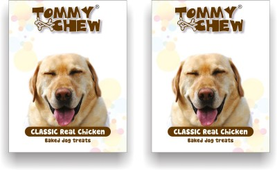 tommychew Classic Real Baked Treat Pack Of 2 Chicken Dog Treat