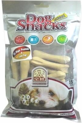 Gnawlers High Protein Bone Large 15 pieces Milk Dog Treat