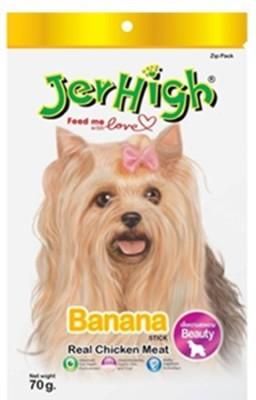 Jerhigh Banana Banana Dog Treat(70 g, Pack of 1)