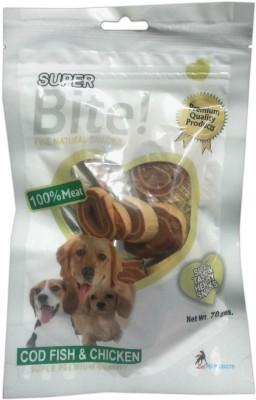 Super Bite Rings Cod, Fish, Chicken Dog Treat