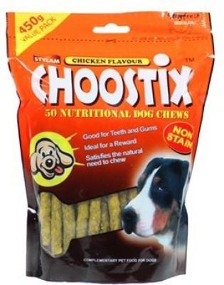 Choostix Chicken Flavour Chicken Dog Treat