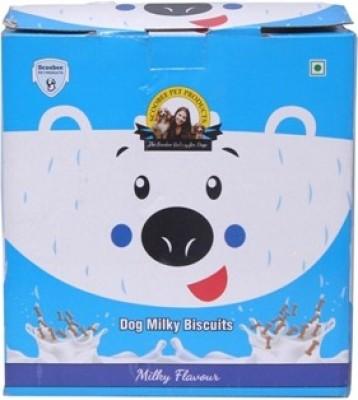 Scoobee milky Milk Dog Treat(1 kg, Pack of 1)