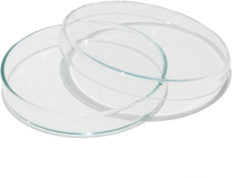 DULAB Glass Reusable Petri Dish(75 mm Pack of 10)