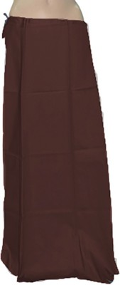Swaroopa Deluxe brown-248 Poplin Petticoat