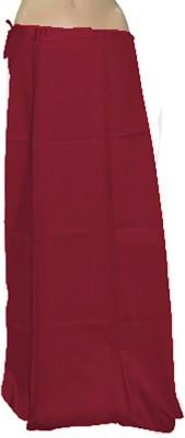 Swaroopa Deluxe Red-91 Poplin Petticoat