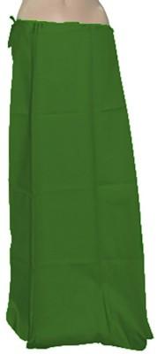 Swaroopa Deluxe Green-166 Poplin Petticoat