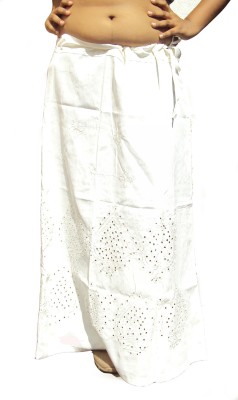 New Life Enterprise Hath0861-White Cotton Petticoat