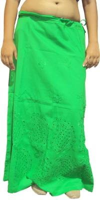 New Life Enterprise Hath0850-Green Cotton Petticoat