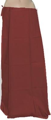 Swaroopa Deluxe Maroon-81 Poplin Petticoat