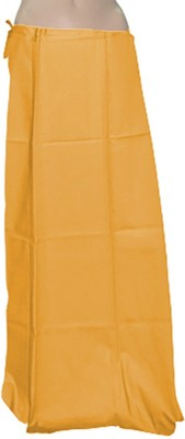 Swaroopa Deluxe GoldenRodYellow-155 Poplin Petticoat