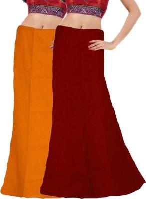Javuli in-mango-maroon Cotton Petticoat(XXL)
