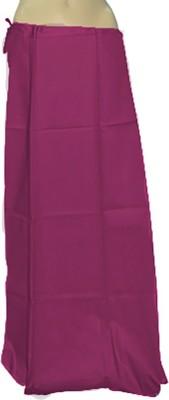 Swaroopa Deluxe Purple-185 Poplin Petticoat