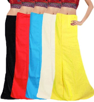 Javuli ja1-in-com5-black-red-sky-white-yellow Cotton Petticoat