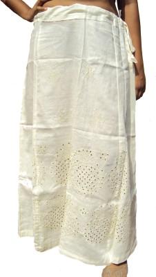 New Life Enterprise Hath0710-Cream Cotton Petticoat