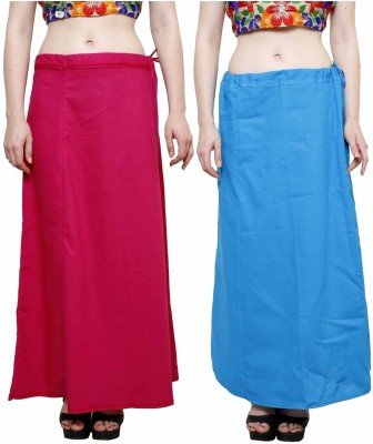 eFashionindia Pink_Skyblue Cotton Petticoat