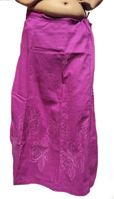 New Life Enterprise Hath0860-Purple Cotton Petticoat
