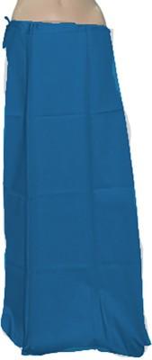 Swaroopa Deluxe DarkBlue-4 Poplin Petticoat
