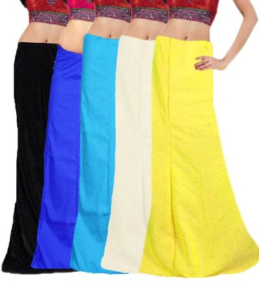 Javuli ja1-in-com5-black-blue-sky-white-yellow Cotton Petticoat
