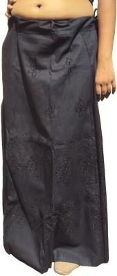 New Life Enterprise Hath0856-Black Cotton Petticoat