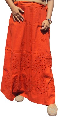 New Life Enterprise Hath0828-Orange Cotton Petticoat