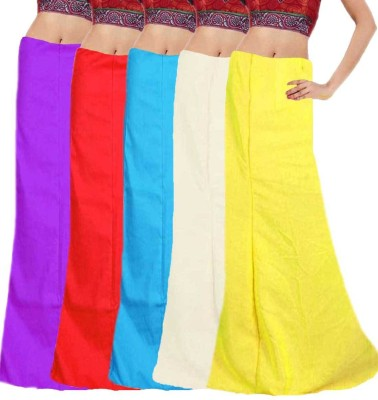 Javuli in-com5-purple-red-sky-white-yellow Cotton Petticoat