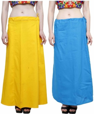 eFashionindia Yellow_Skyblue Cotton Petticoat