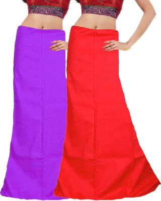 Javuli ja1-in-purple-red Cotton Petticoat