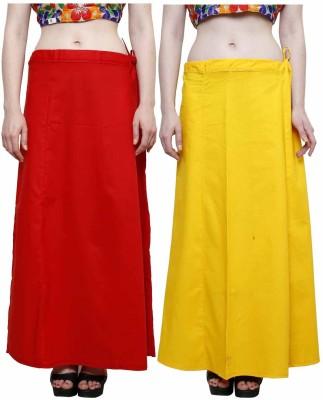 eFashionindia Red_Yellow Cotton Petticoat