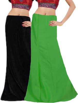 Javuli in-black-green Cotton Petticoat